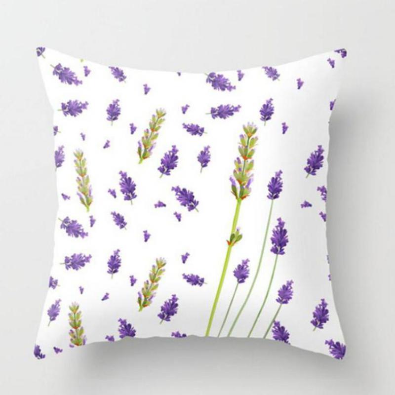 ⑧Pequeña flor fresca Fundas de colchón verde Planta artificial ...