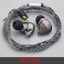 متوازن المحرك الديناميكي في الأذن سماعة با سائق إلغاء الضوضاء الرياضة سماعة رأس مزودة بميكروفون 28 النوى استبدال MMCX كابل