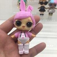 Шт. 8 шт. куклы Распаковка принцесса куклы детские прекрасная образовательная Фигурки игрушки дети девочка подарки на день рождения пластиковая девочка игрушка