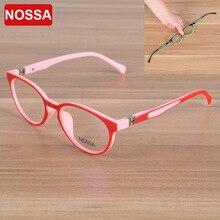 TR90 子供光学フレーム眼鏡眼鏡ガールズボーイズキッズ近視メガネフレーム眼鏡フレーム Nossa ブランド品質