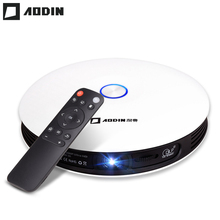 AODIN M18 DLP Projector HD 3D Pocket projector HDMI 1080P 4K LED for home theater Portable projector Educational Android 5G WIFI