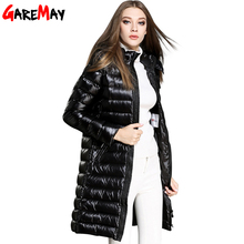 Winter Jacket Women Long Parka Thick Duck Down Coat Plus Size Ladies Coats Long Elegant Outwear Cloth For Womens Casaco Feminino