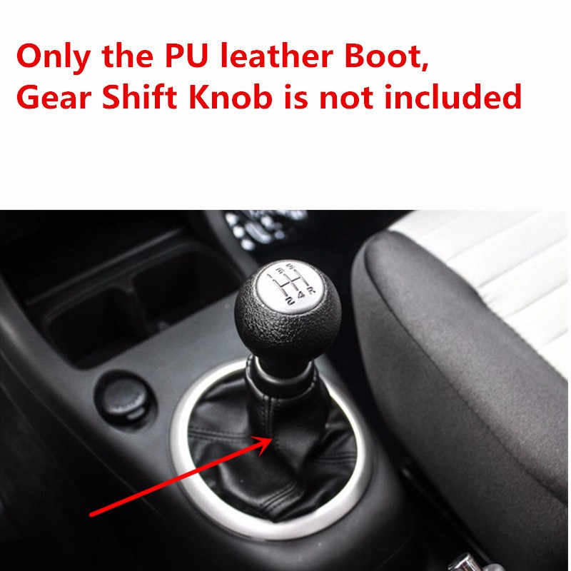 Carro preto MT Deslocamento de Engrenagem Knob Lever MK2 Bota Polaina para Suzuki Swift 2005 2006 2007 2008 2009 2010 tampa protetora contra poeira Colar Quadro