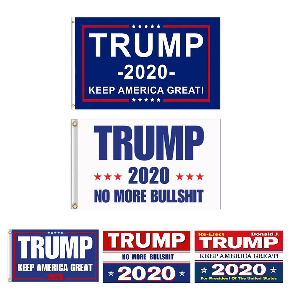 3 x 5 Fuß Großhandel Donald J Trump Flag 2020 America Great Again für President