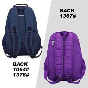 Image 5 - TEGAOTE Kind Schule Rucksack für Teenager Mädchen Mochila Rucksack Schulter Taschen Nylon Wasserdichte Frauen Bagpack Reise Zurück Pack Tasche