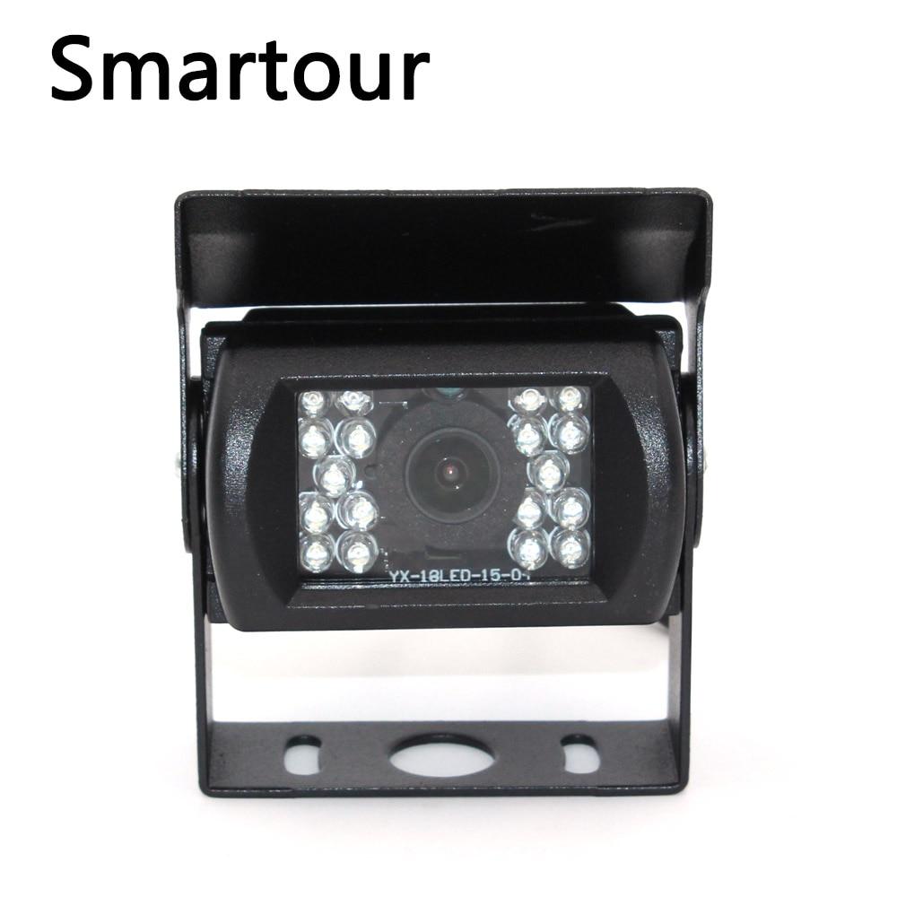 Smartour Bus truck truck reversing camera HD night vision + 7 inch display backup rear view visual image system