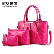 2016 новые сумки женской моды сумка Crossbody Европейский воздуха тип одиночный мешок плеча композитный мешок корейский ИСКУССТВЕННАЯ кожа плед