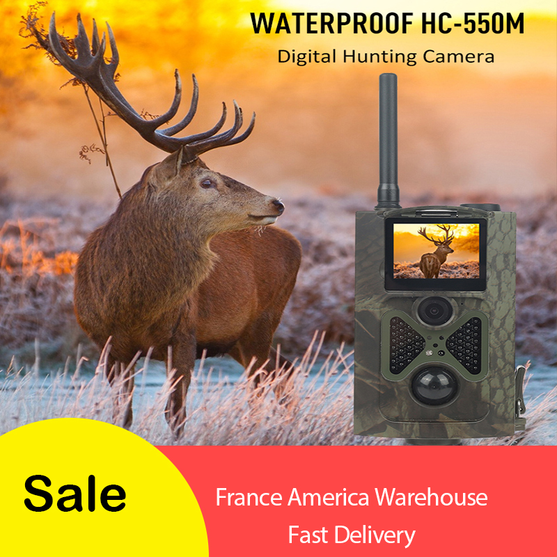 Skatolly HC550M Deer Hunting Trail Camera 12MP 1080P Night Vision Wildlife Hunter Photo Traps Scout 2G