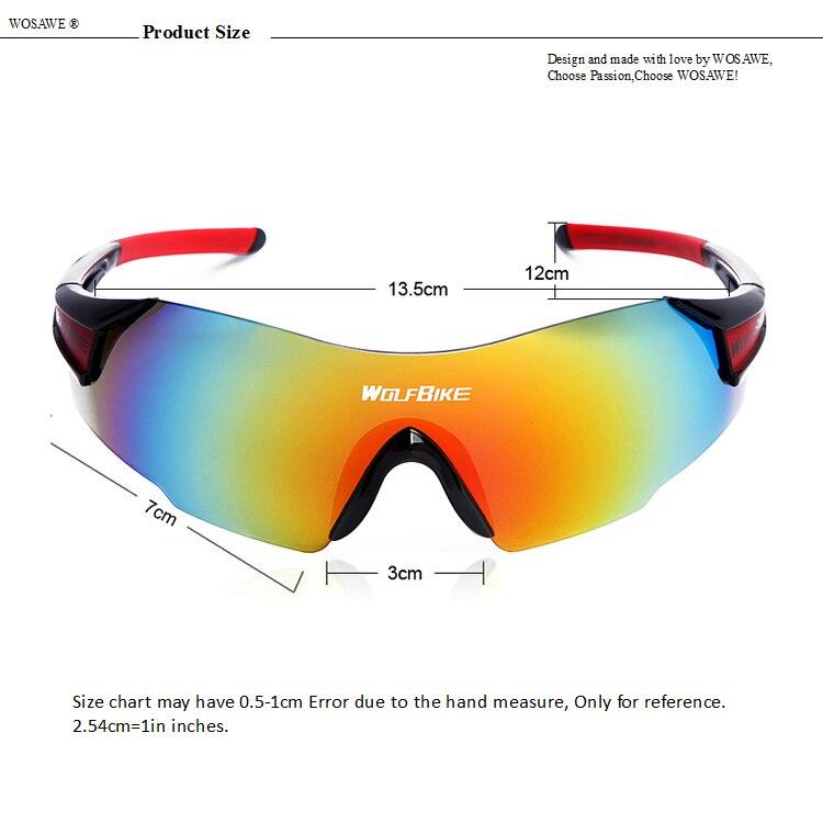 Bicycle Cycling Sunglasses Sports Glasses Bike Goggles UV400 Unisex