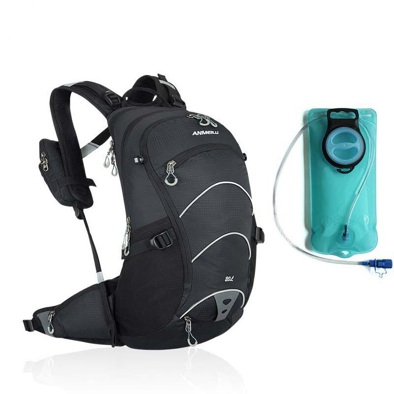 Vodotěsný cyklistický batoh na motocykl + 2L vodní vak Outdoor Sportovní lezení Jízda na kole Cyklistika Cestovní taška Sportovní batohy Batoh