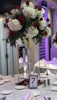 4 Colors 10PCS Flower Vase Columns Floor Vases Column Stand Metal Road Lead Wedding Table Centerpiece Flower Rack Event Decor 1