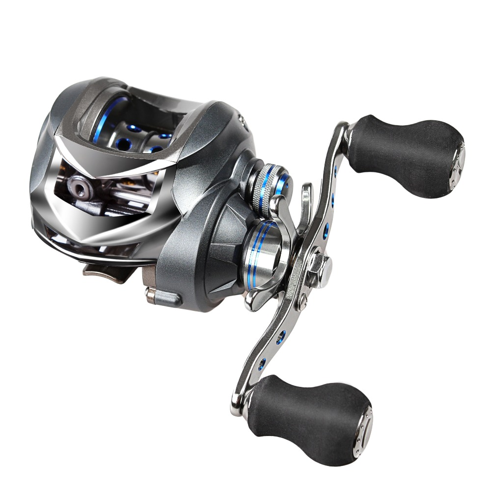 Cemreo bait casting reels 17 1bb 7 0 1 right left hand for Baitcasting fishing reels