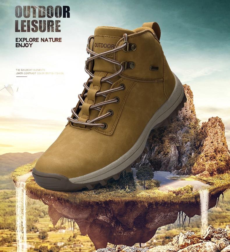 احذية رجالية لفصل الشتاء حجم 39-46 5