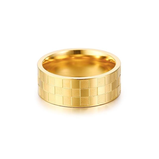 Фото кольцо из нержавеющей стали для мужчин и женщин ювелирное изделие