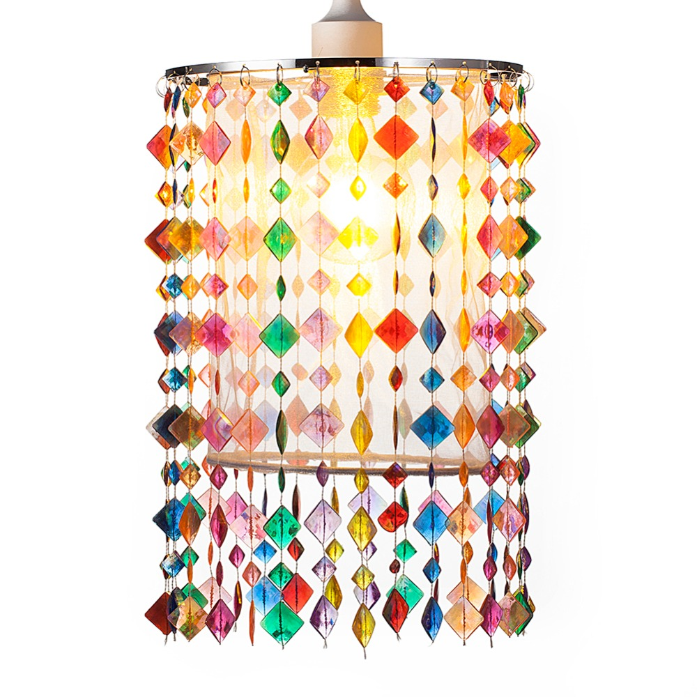 SUNLI HOUSE Colorful Chandelier Lights for kids Acrylic Beads lights shade for home decoration with Chrome Sliver E27 Irom Frame backpack women mini backpack school bags teenagers girls genuine leather small rucksack fashion travel bag mochila feminina sac