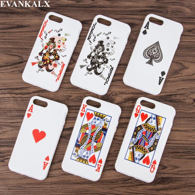 7 Fitted 8 6 Iphone 6s Evankalx Aliexpress Alibaba Telecommunications On Cards Plus-in Case 8 Cases For 6 Cellphones Novelty Coque amp; com 7 From Playing Funda Cover 6s Back Group