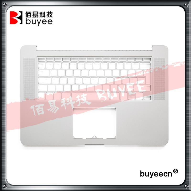 Genuine NEW A1398 Laptop Palmrest Topcase 2013 2014 For Macbook Pro Retina 15'' A1398 Top Case English UK Layout Replacement original new a1398 palmrest english verision 2012 for macbook pro retina 15 a1398 upper top case cover uk layout replacement
