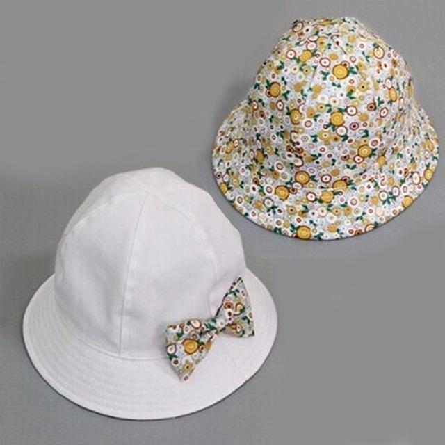 Baby Sun Bucket Hat – Sun Protective, Double Sided