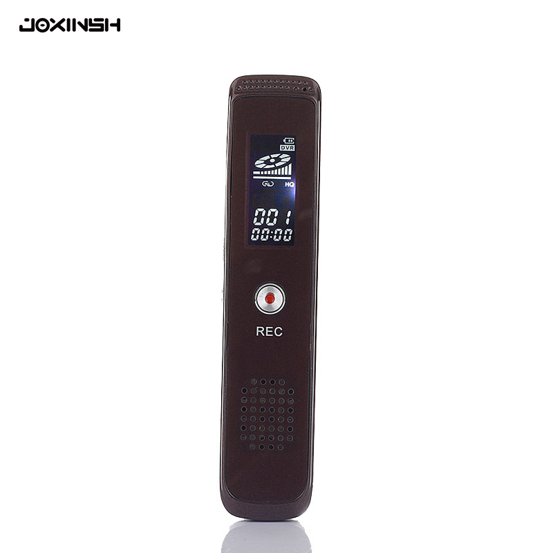 8GB Digital Audio Voice Recorder Professional Portable USB Voice Sound Recorder Dictaphone With MP3/WAV Format