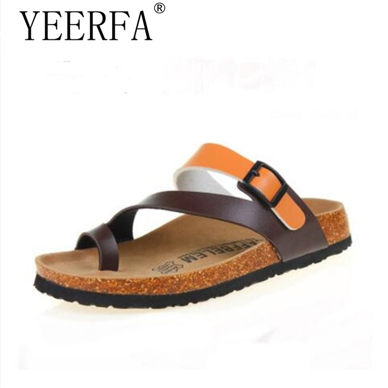 1f60bc71b4d Detail Feedback Questions about New Summer Cork Slides sandals Flats with  2019 New Women Casual Slip on Beach Slides Flip Flops Shoe White Pink Red  size 35 ...