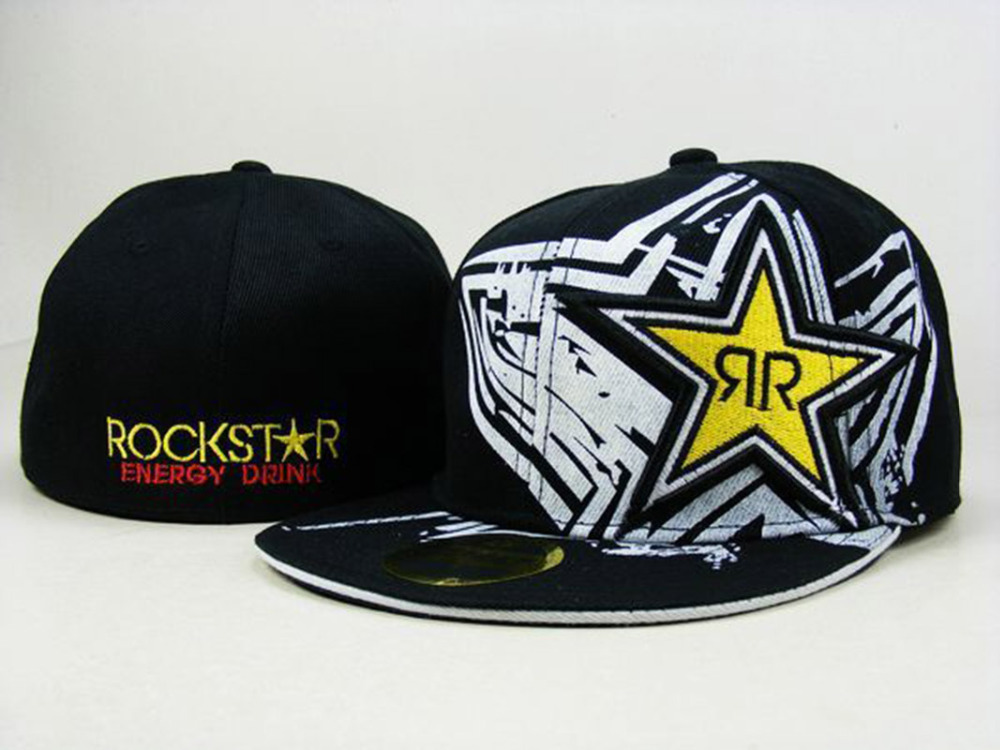 ... ireland new arrival rockstar fitted hats for men women fitted baseball  caps hip hop cap gorras ... d2be7f3bb0c5