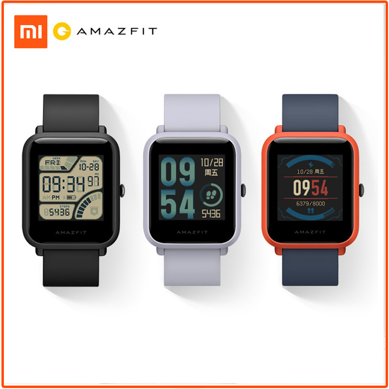 Original Xiaomi Huami Amazfit Bip Smart Watch English Version Lite Waterproof GPS Smartwatch Android iOS Heart Rate smartwatch