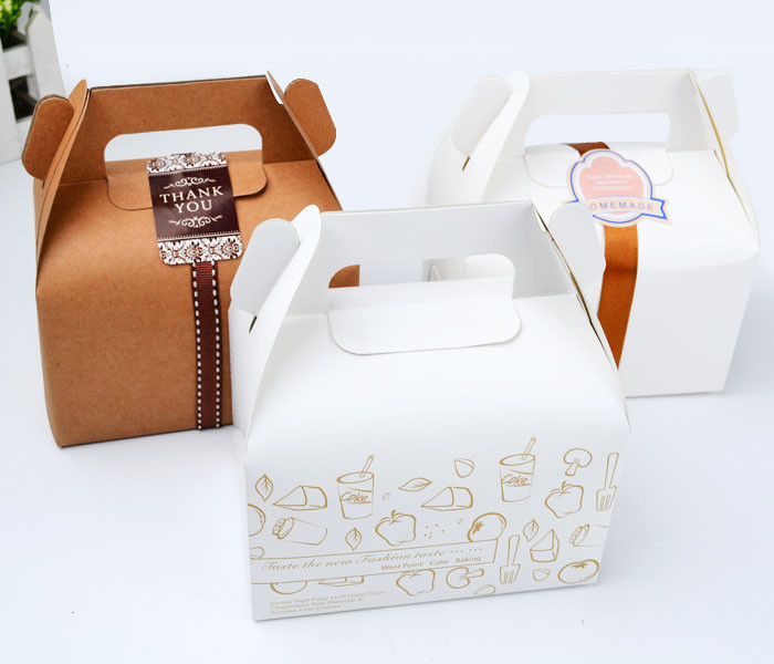 Kraft Cake Boxes Bulk Free Shipping