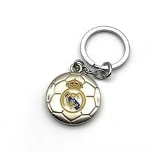 Real Madrid Football Club Soccer Team Logo 3D Metal Pendant Keychain Keyring Crest