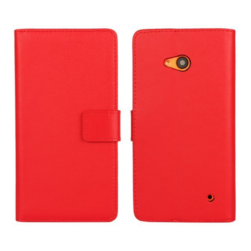 Luksusowe odwróć portfel genuine leather case pokrywa dla microsoft lumia 640 lte dual sim cell phone case do nokia 640 n640 powrót pokrywa 15