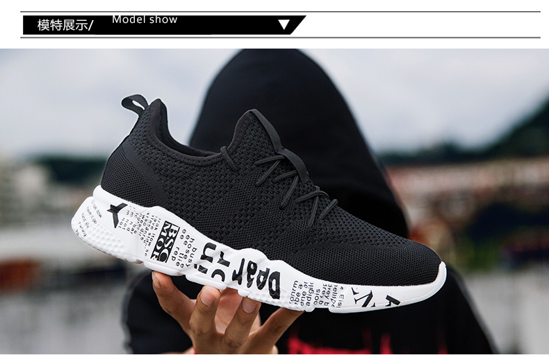Explosion promotion in 2019, low price one day snapped up,Sneakers Men Trendy Shoes Male breathable red 44 4