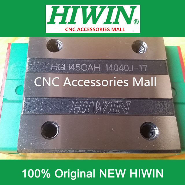 1pcs HIWIN HGH45CA New original linear guide block for HGR45 linear guide rail стоимость