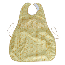 Washable Adult Reusable Eating Bibs Elderly Disability Aid Apron with Catch Pocket for Men Women Senior Citizens Elderly