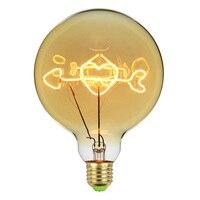 TIANFAN Vintage Light Bulbs Led Bulb 4Watts Dimmable Light Bulbs Heart Love Decorative 220/240V E27 Golden Table lamp Bulb