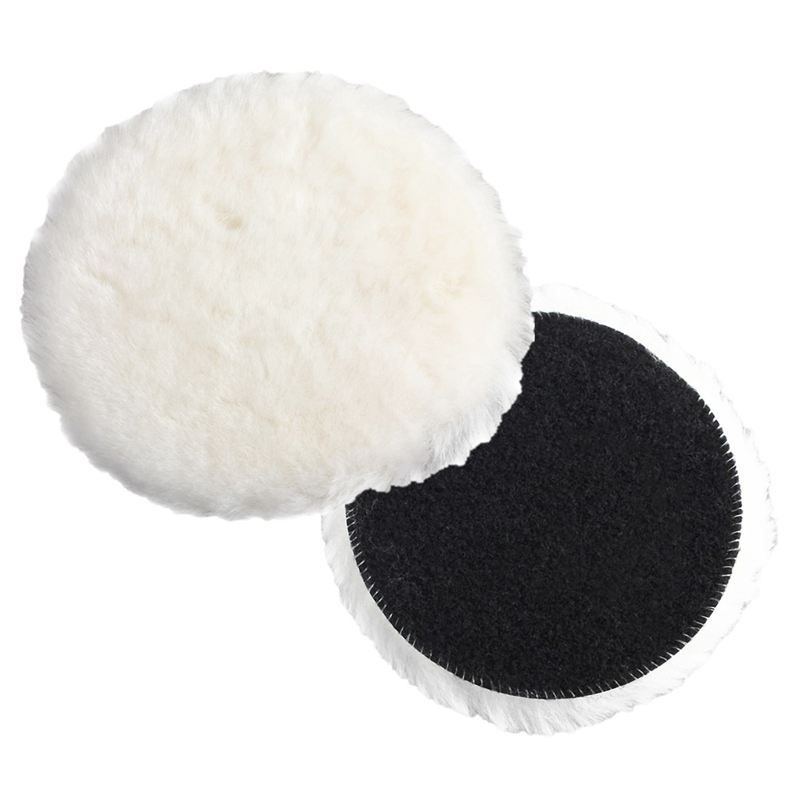 Car Van Valeting Polisher Buffer Lamb Wool Polishing Pad 6 Inch