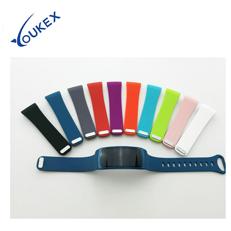 YOUKEX  Silicone Sport Band for Samsung Fit 2 Smart Watch Replacement Bracelet Wrist Strap for Samsung Gear Fit 2 luxury silicone watch replacement band strap for samsung gear fit 2 sm r360 wristband 100