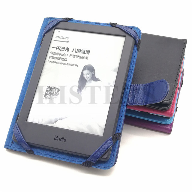 HISTERS Brief Protective Book Cover for 6 inch eBook Sony Reader PRS-T3/T2/T1/650/600/505 eReader Magnetic Case Funda Capa