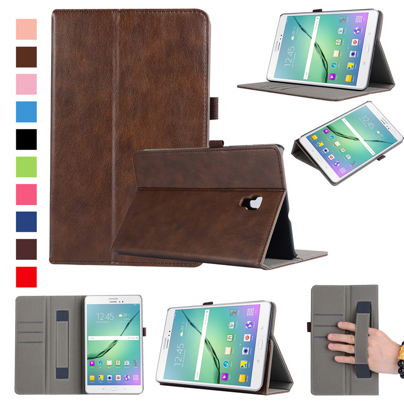 Leather Case For Samsung Galaxy Tab A 8.0 SM-T380 T385 2017 Cover Premium Flip For Galaxy Tab A 8Inch T380 Stand Smart Holder