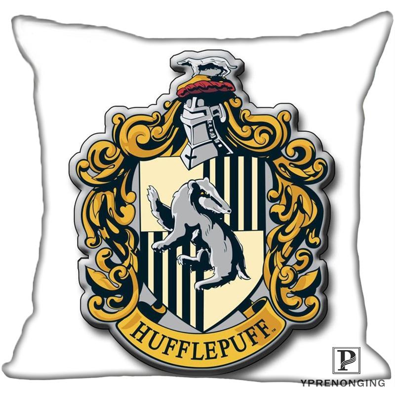 Best Custom Hufflepuff-Harry Potter  (1)@ Pillow Case Bedroom Home Square Zipper Pillowcases (One Side) #190404-01-147