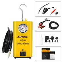 Autool SDT202 Универсальная автомобильная Evap/вакуумная дымовая диагностическая машина авто детектор утечки инструмент-тест для автомобильной утечки с дымом