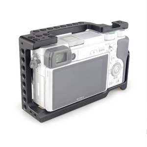 Image 4 - MAGICRIG estabilizador de jaula de cámara para Sony A6400/ A6000/ A6300/ A6500/ ILCE 6500/ NEX7 DSLR, Monitor de micrófono de montaje en jaula 501