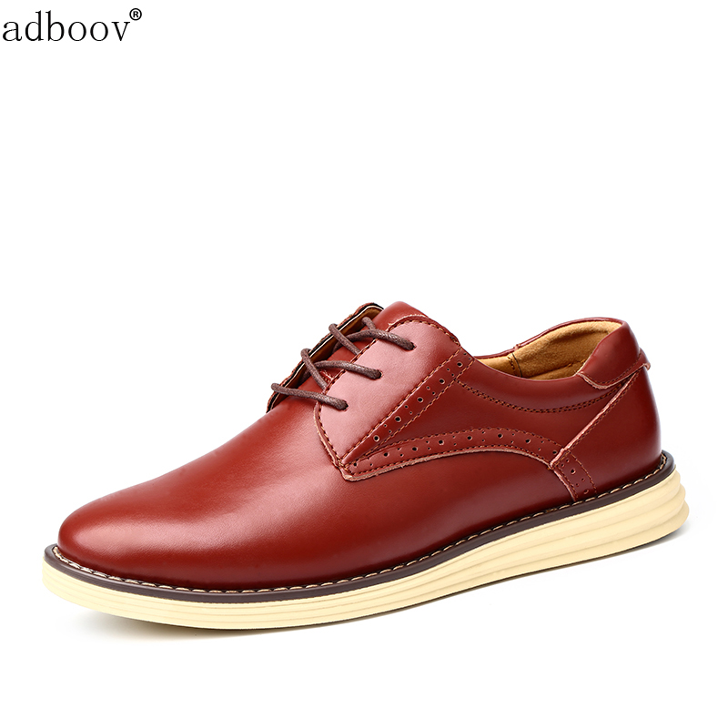 classic Brogue style mens skate shoes red brown man ...