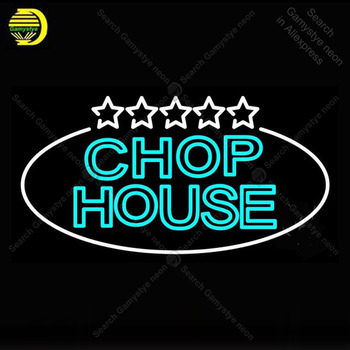 Neon Sign for Double Stroke Green Chophouse Neon Bulb Sign Display Beer Light up wall sign for Room Custom nein sign Lamp art