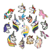 Direct Selling Embroidery Cloth Patch Unicorn Pony Cartoon Kidswear Accessories D-013