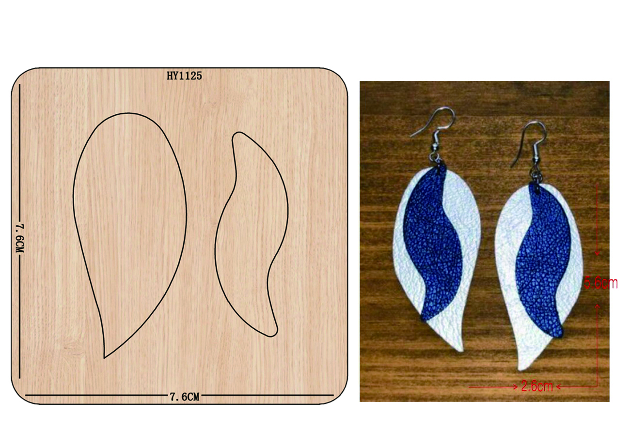 earrings cutting dies 2019 die cut & wooden dies Suitable for common die cutting machines on the marke