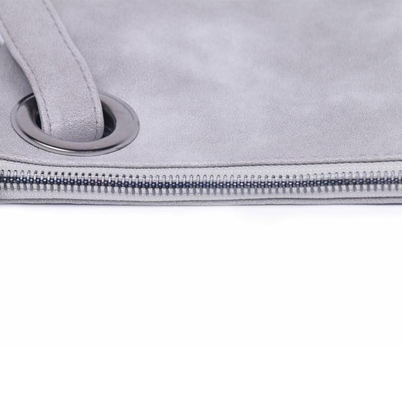 DAUNAVIA Modieuze vrouwen clutch tas lederen envelop tas high-end en - Handtassen - Foto 4