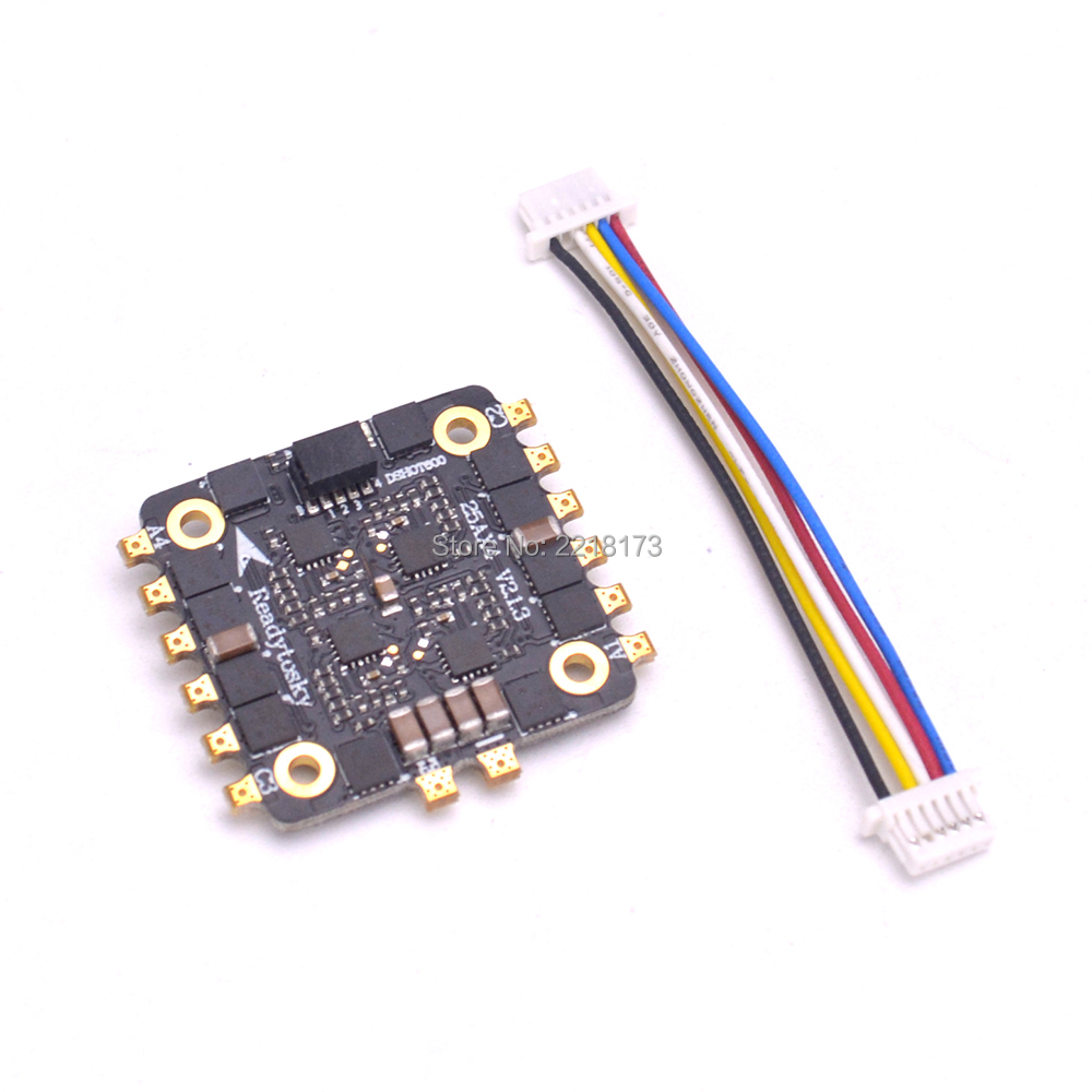 2-5S 4 in 1 25A ESC BLHeli_S ESC Speed controller board OPTO Supports Oneshot125 Multishot DSHOT for mini F3 / F4 flytower Drone