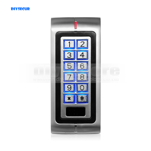 DIYSECUR New 125KHz ID Card RFID Reader Keypad Door Lock Access Controller For Home/ Office Safety Use Brand NEW usb pos numeric keypad card reader white
