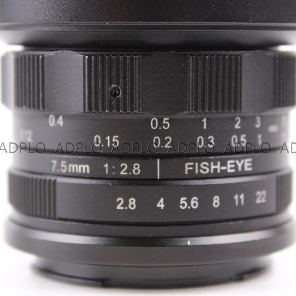 APS-C CL-Mil7528N 7.5mm F2.8 Fish-eye groothoeklens voor Fujifilm FX - Camera en foto - Foto 5