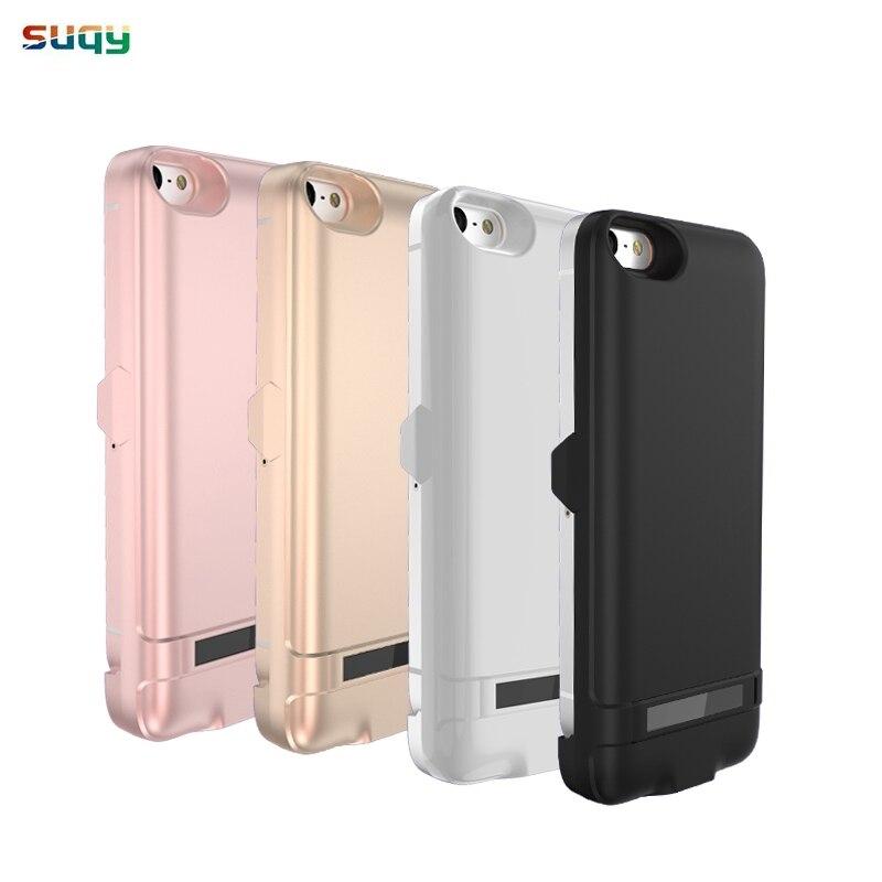 Suqy 4200 mAh pour iphone 5 5g 5S 5se Batterie Rechargeable Battrey Chargeur Cas pour iphone 5 5S 5se Intelligent Accumulateur cas