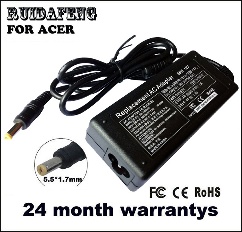 ADAPTER CHARGER 19V 3.42A FOR ACER LAPTOP ASPIRE 5551 5742 5750 - لوازم جانبی لپ تاپ